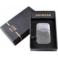 NEW USB зажигалка на подарок 4353 Подарочная Стильный и оригинальный аксессуар курильщика Практичный подарок