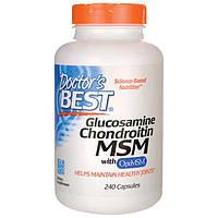 Глюкозамин хондроитин МСМ США 1500 мг 240 капсул