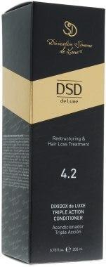 Бальзам-кондиционер против выпадения волос № 4.2 Simone Dixidox DeLuxe Triple Action Conditioner 500 мл