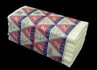 Полотенца бумажные V-сложения, 2-х слойные Z-BEST, белые,160 шт/уп. Украина