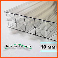 Поликарбонат сотовый 10 мм прозрачный SOTON TITAN
