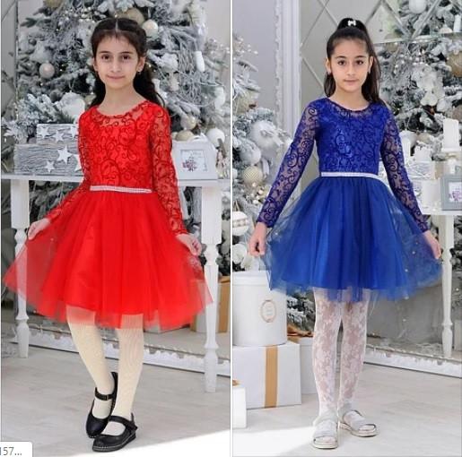 Нарядные детские платья для девочек Модница! 5-14 лет.