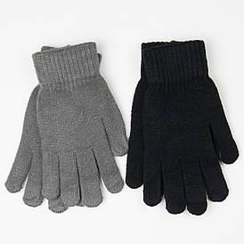 Оптом  мужские вязанные перчатки № 19-5-13