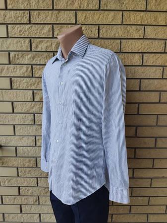 Рубашка мужская коттоновая брендовая высокого качества реплика ARMANI, Турция, фото 2