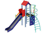 Детский комплекс Маяк, высота горки 1,5 м Kidigo (11274), детские игровые площадки.