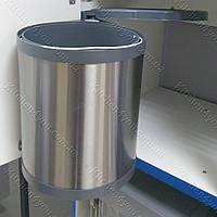 Встраиваемое кухонное ведро MOVIMENTO нержавеющая сталь