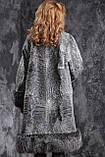 Шуба пальто из каракульчи SVAKARA со съемной чернобуркой swakara broadtail jacket coat furcoat, фото 4