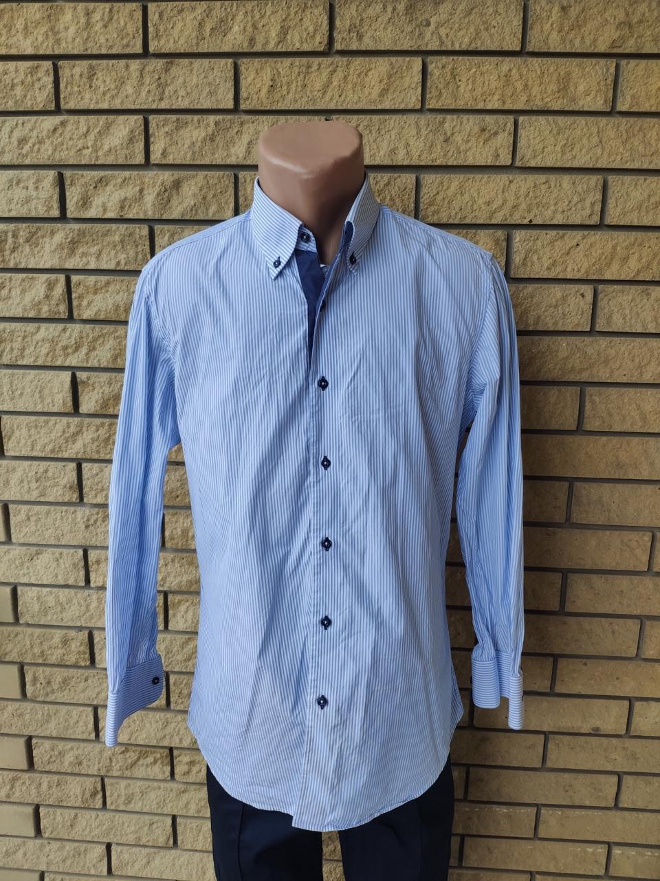 Рубашка мужская коттоновая брендовая высокого качества ONLY, Турция