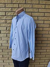 Рубашка мужская коттоновая брендовая высокого качества ONLY, Турция, фото 3