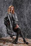 Шуба пальто из каракульчи SVAKARA со съемной чернобуркой swakara broadtail jacket coat furcoat, фото 5