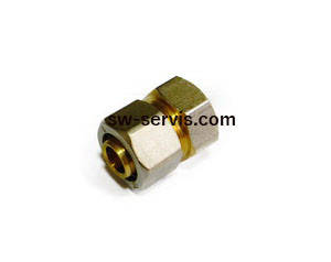Муфта для металопластикових труб 16*1 2 з внутрішньою різьбою
