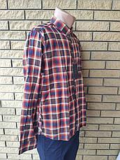 Рубашка мужская коттоновая брендовая высокого качества JFF, Турция, фото 3