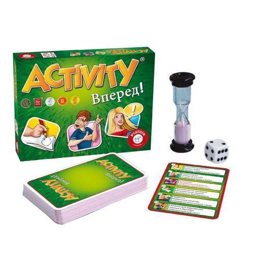 """Карточная игра """"Activity Вперёд!"""" (рус) 797996"""