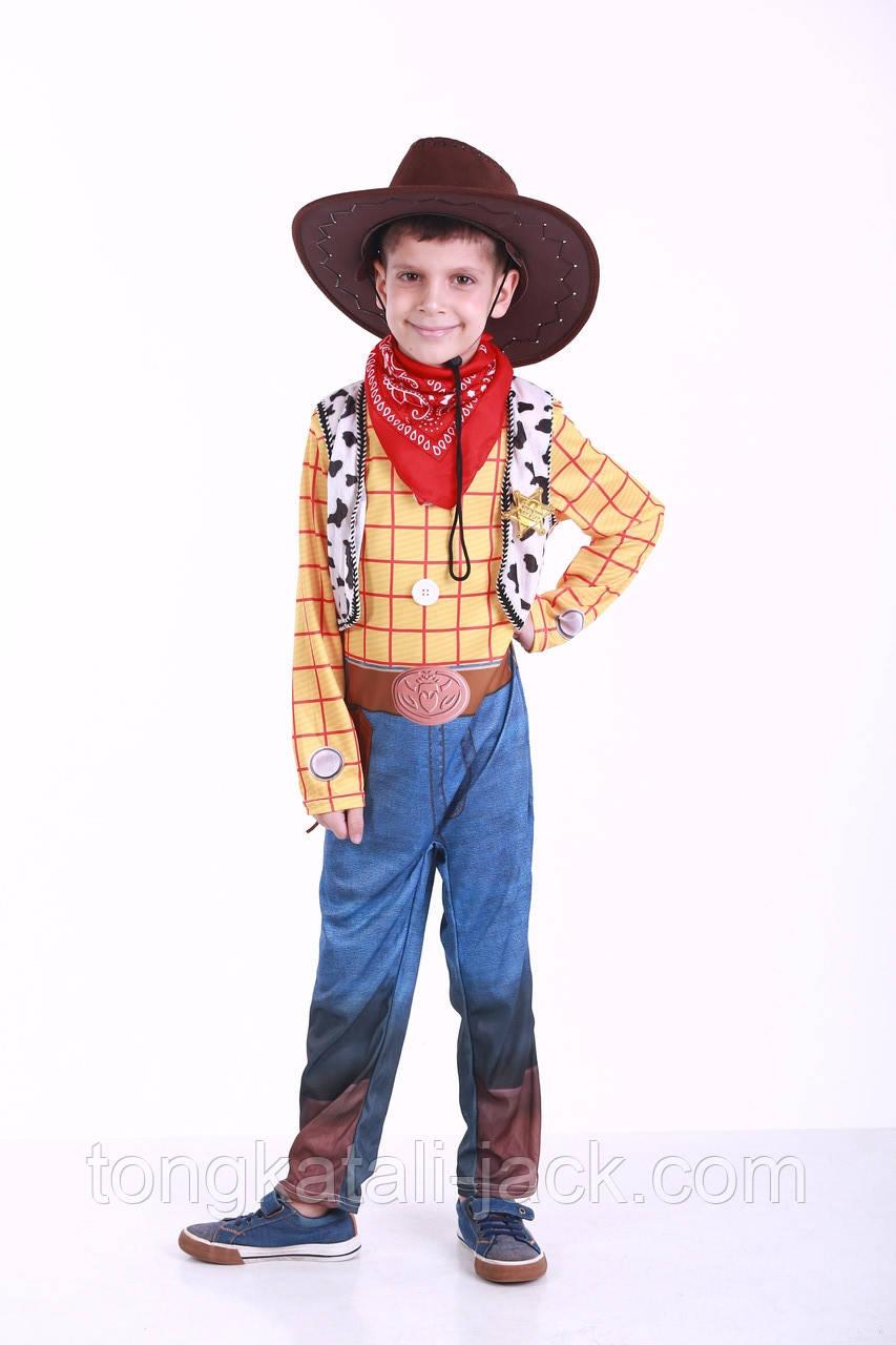 Костюм ковбоя Вуди 5-7 лет, прокат карнавальной одежды