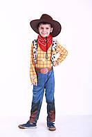 Костюм ковбоя Вуди 5-7 лет, прокат карнавальной одежды, фото 1