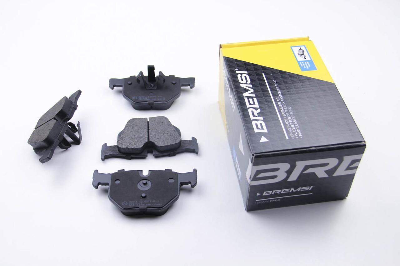 Колодки тормозные задние BMW 5(E60) (123x58,1x17,3)
