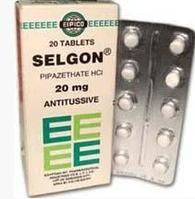 Selgon-таблетки от кашля Египет