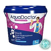 pH плюс в гранулах Аквадоктор 5 кг. Средство для повышения уровня в воде Ph AquaDoctor pH Plus 5 кг