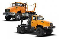 Аренда лесовозного тягача КрАЗ 64372 IK