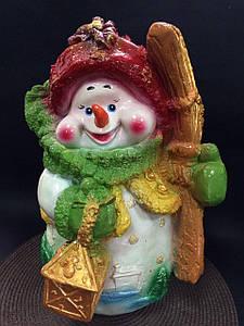 """Статуэтка """"Новогодний снеговик"""""""