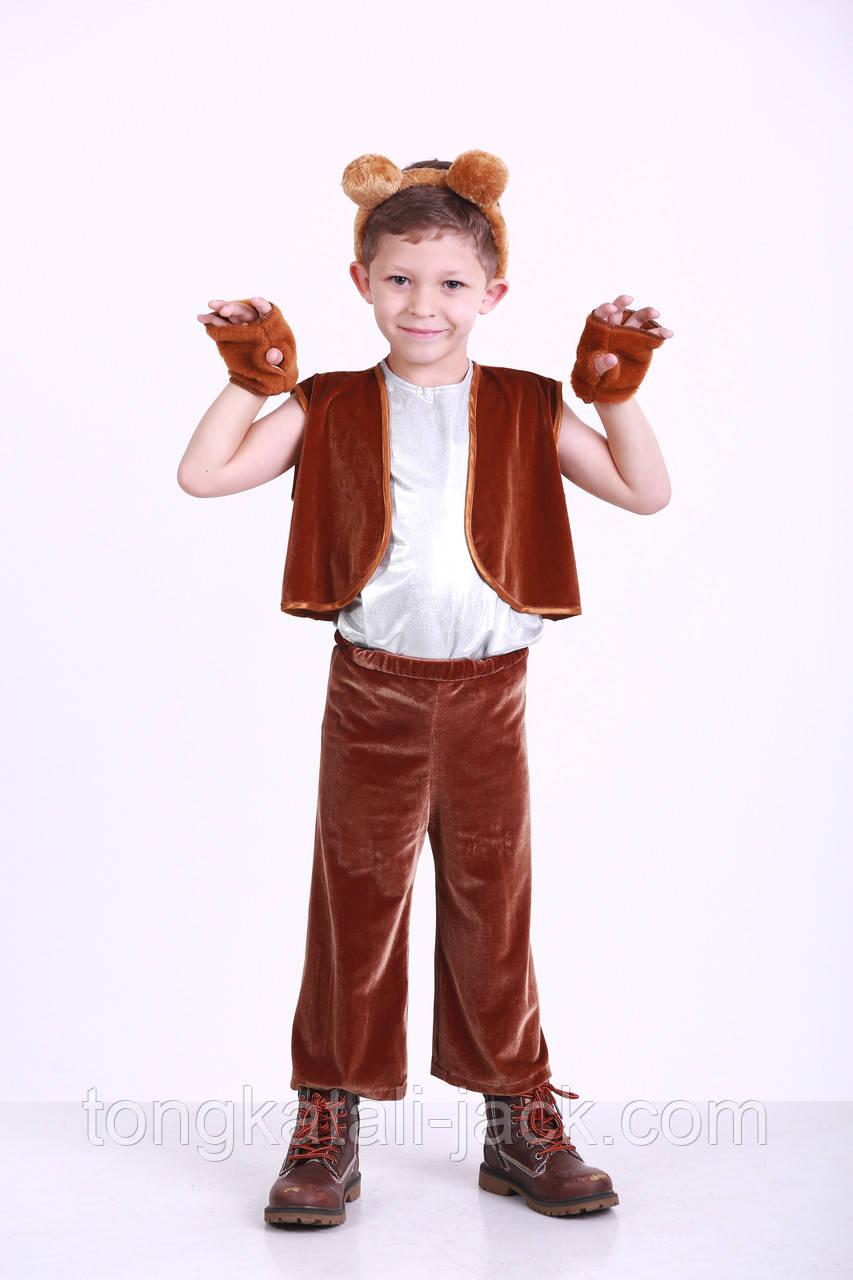 Костюм мишки размер 98-110 см, прокат карнавальной одежды