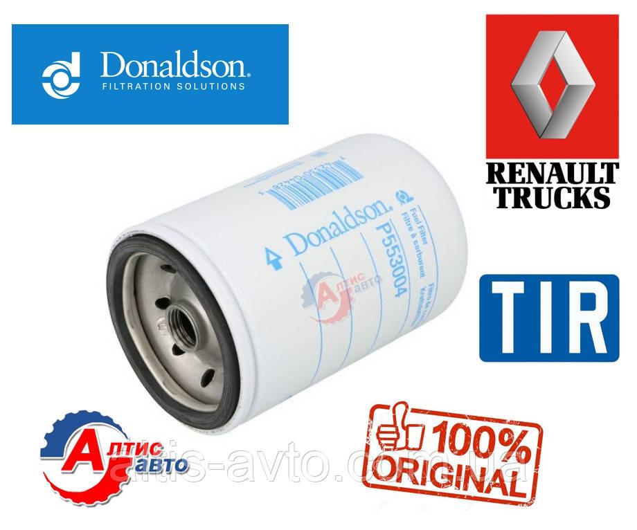 Топливный фильтр Рено Премиум двигателя 5000790570 Donaldson P553004