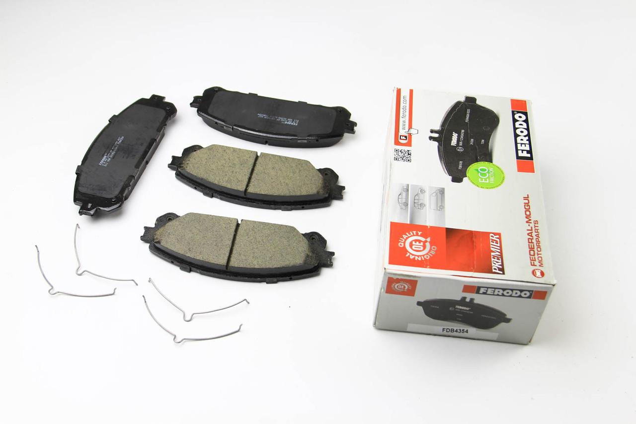 Колодки тормозные передние Toyota RAV4 2012-