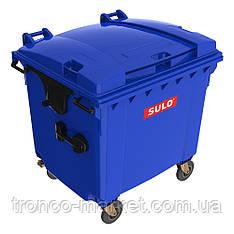 Контейнер для мусора на колесах   SULO EN-840-2/1100Л_в цвете