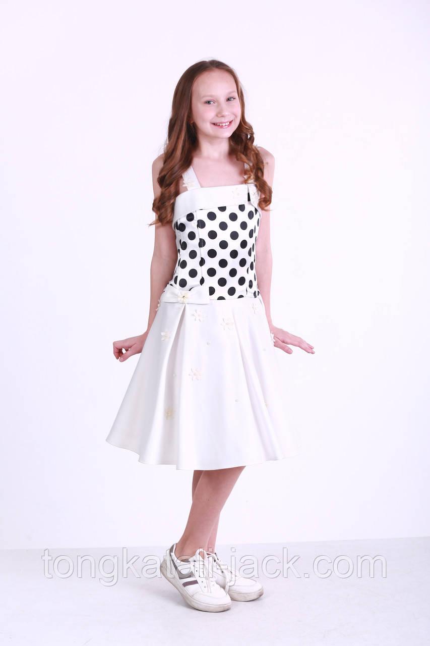 Праздничное платье стиляги размер 134-152 см, прокат карнавальной одежды