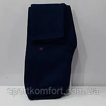 Тёплый женский спортивный костюм Fore, Турция, тёмно-синий, большой размер., фото 3