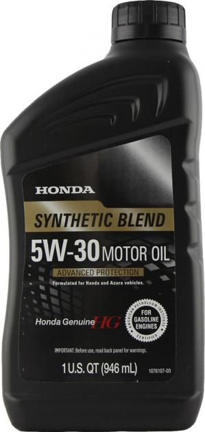 Оригинальное моторное масло HONDA 5W-30 0,946л (USA)