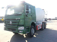 Аренда бетономешалки SINOTRUK HOWO 6X4 371HP 12 m³ Mixer Truck