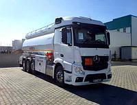 Аренда автоцистерны для перевозки газа (цистерны для LPG)