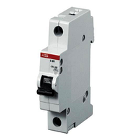 "Автоматические выключатели ""АВВ"" SH 201-10A/1полюс (Хар-ка С)"