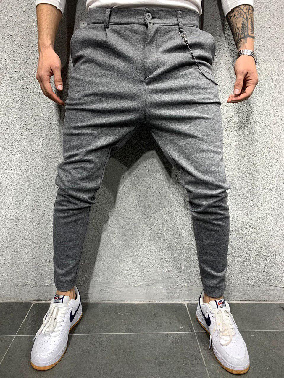 Мужские брюки 2Y Premium P1061 grey