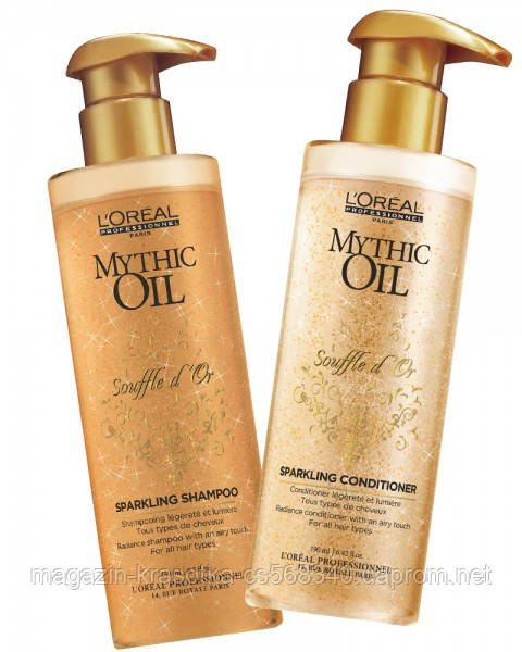 Кондиціонер з дорогоцінними маслами L'oreal Professionnel Mythic Oil Sparkling Conditioner,
