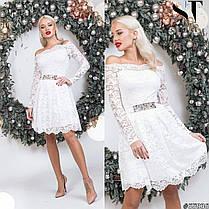 Чудесное гипюровое платье, фото 3