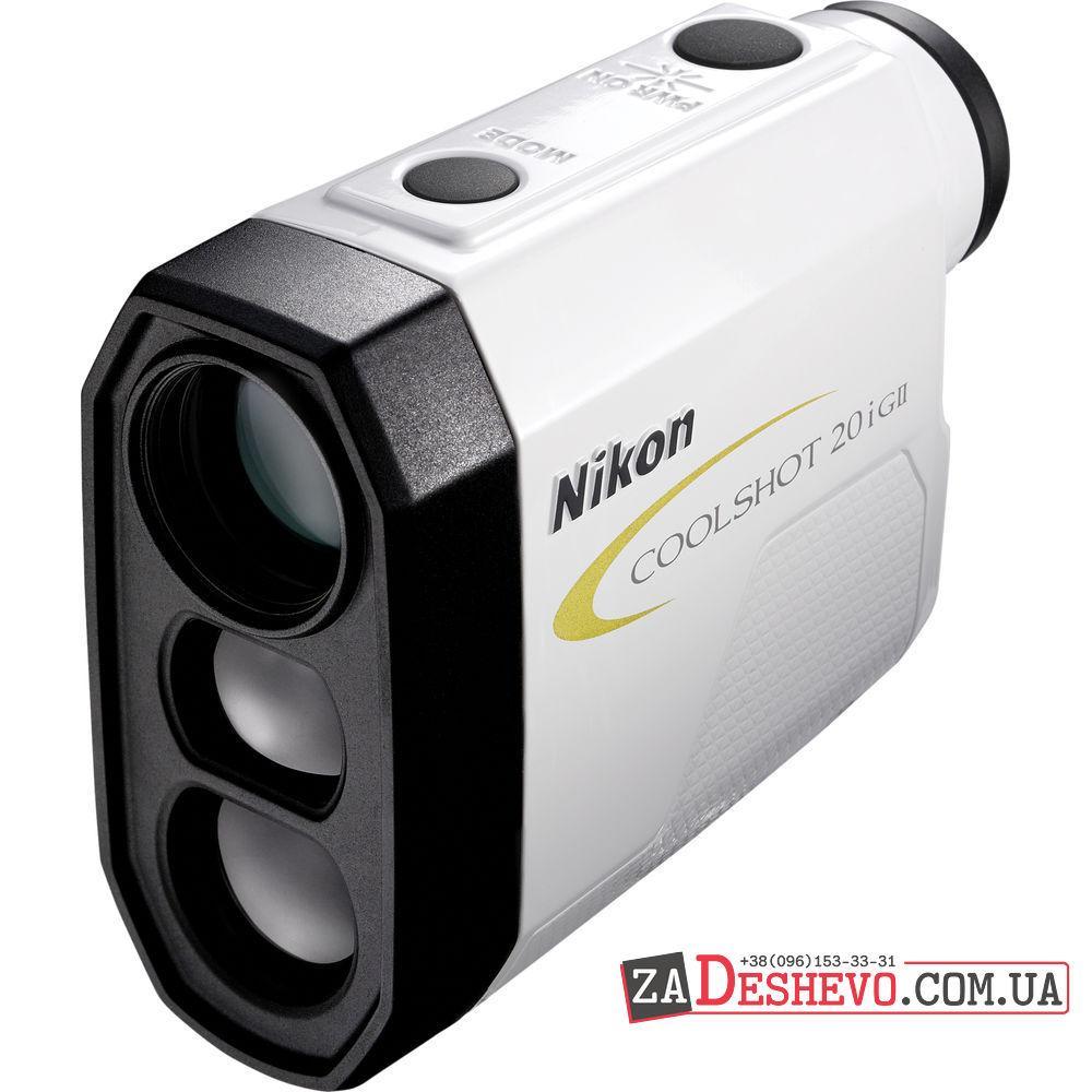 Лазерный дальномер Nikon CoolShot 20i GII 6x20 Golf Laser Rangefinder (16666)