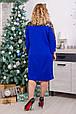Красивое платье с гипюром Барбара  4 цвета (52-62), фото 8