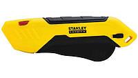 Нож STANLEY FATMAX Box безопасный с выдвижным трапецевидным лезвием (FMHT10369-0)