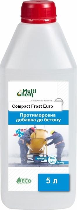 MultiChem. Антифриз,противоморозна добавка Compact Frost Euro, 5 л. Антифриз для бетона., фото 1