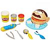 Игровой набор тесто для лепки Мистер Зубастик с аксессуарами Play Doh пластилин, фото 6