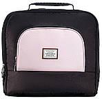 Коляска Adamex Mimi Polar Y839-A черный розовый кожа, фото 4