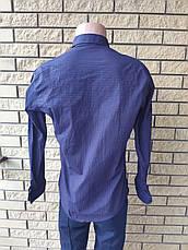Рубашка мужская коттоновая стрейчевая брендовая высокого качества HARWEST, Турция, фото 2