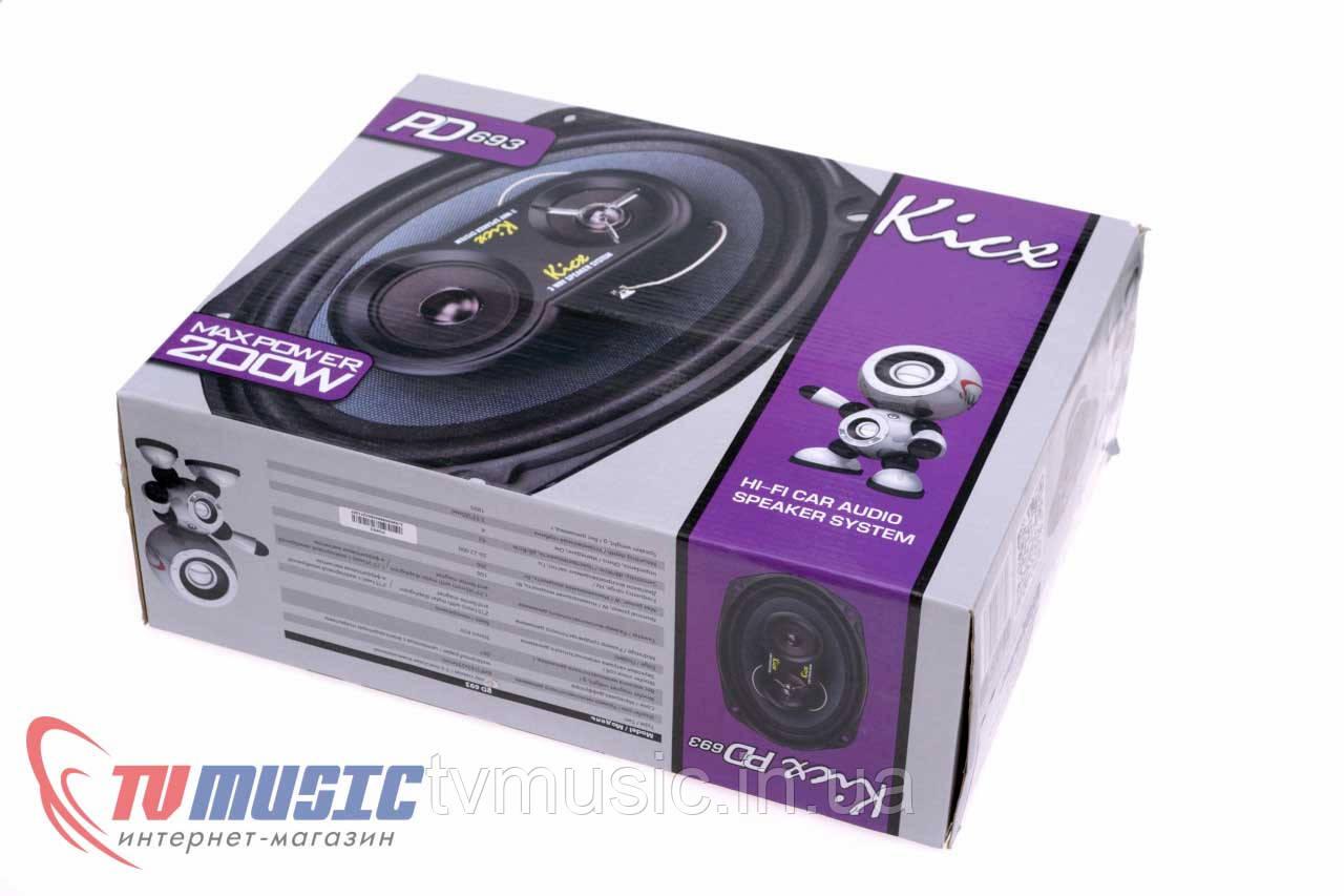Автомобильная акустика Kicx PD 693