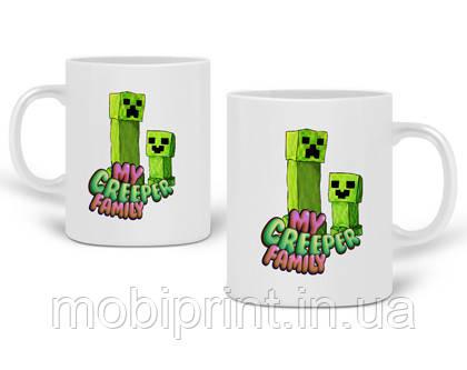 Кружка Майнкрафт (Minecraft) 330 мл Чашка Керамическая (20259-1176)