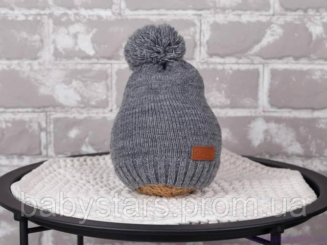 Вязаная детская шапка