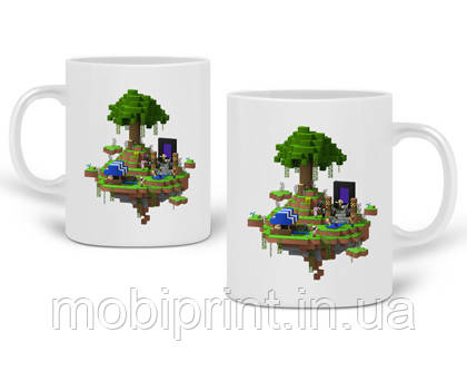 Кружка Майнкрафт (Minecraft) 330 мл Чашка Керамічна (20259-1177)
