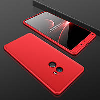 Чехол GKK 360 градусов для Xiaomi Mi Mix 2 Красный