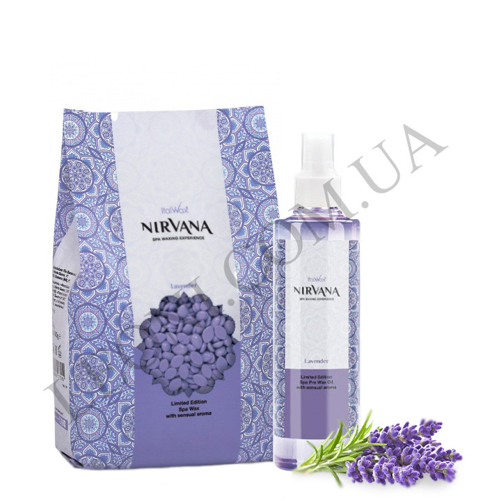 Набор для ароматической СПА-депиляции ItalWax Nirvana Лаванда
